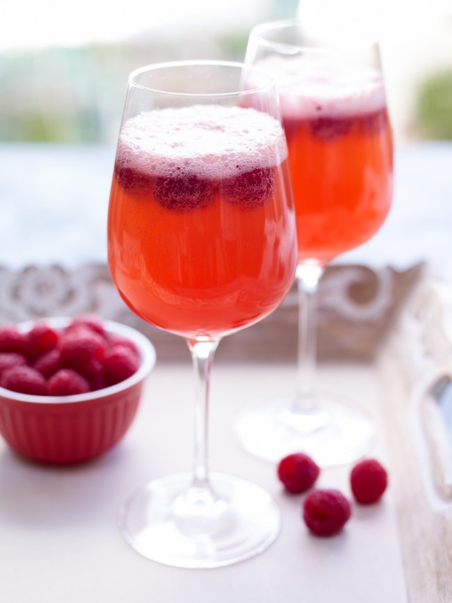 Raspberry Spritz