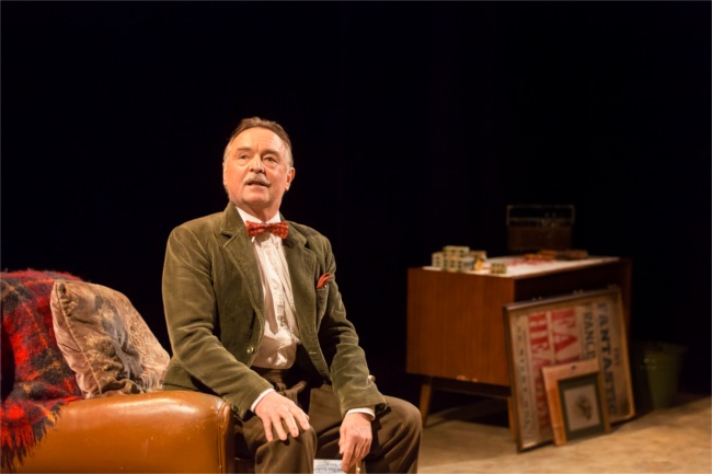 Ron Cook (Teddy) in Faith Healer at the Donmar Warehouse