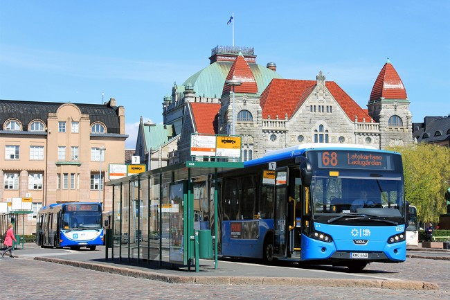 Helsinki bus theory