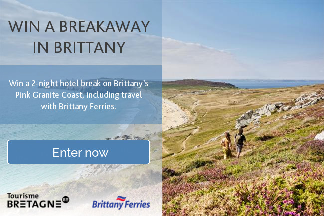 Win a breakaway to Brittany