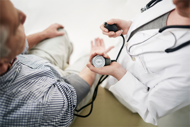 blood pressure and dementia