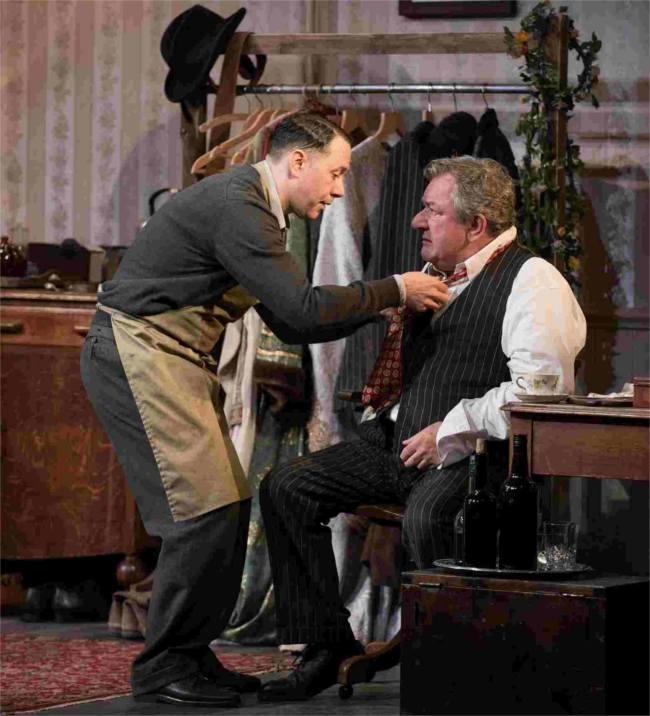 Ken Stott and Reece Shearsmith, The Dresser