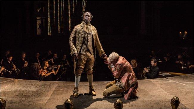 Lucian Msamati and Adam Gillen, Amadeus