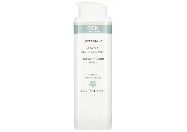 Ren skincare's Evercalm cleansing milk