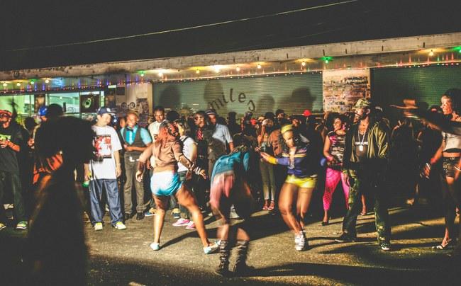 Street party in Kingston