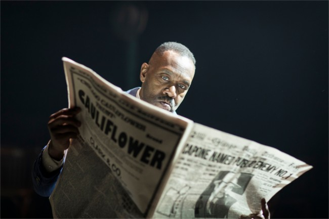 Lenny Henry in The Resistible Rise of Arturo Ui