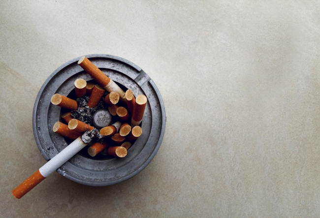Numbers of smokers declining