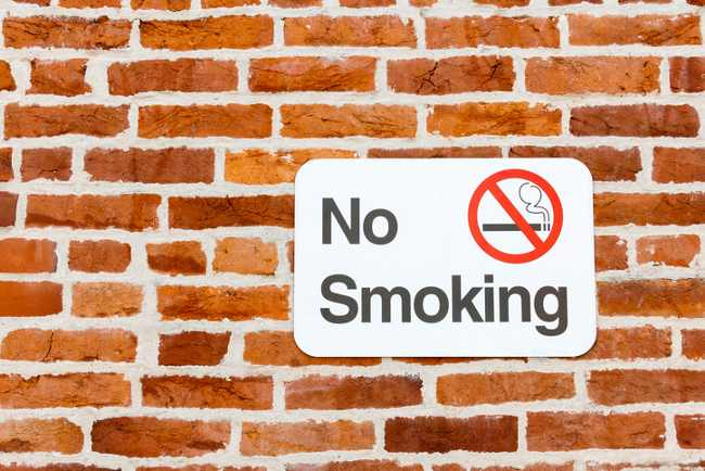Smoking banned in public spaces