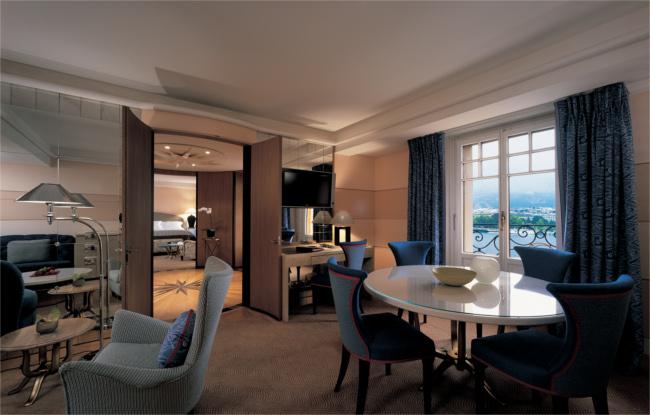 Lake view suite, Le Richemond