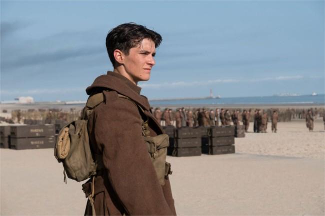 Dunkirk starring Fionn Whitehead