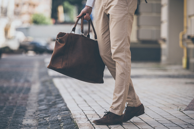 Man with a bag