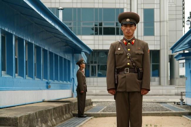 North Korean guard