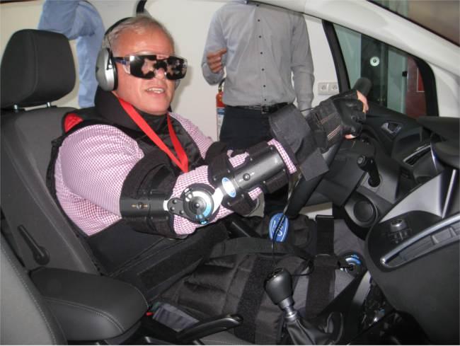 Michael Edwards testing 'third age' suit