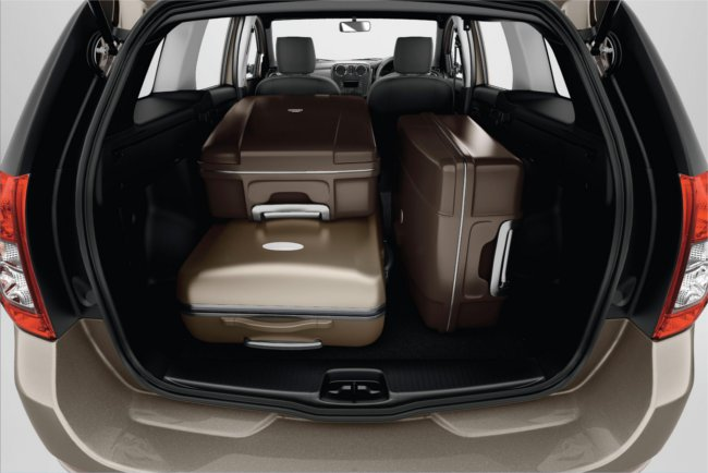 Dacia Logan boot space