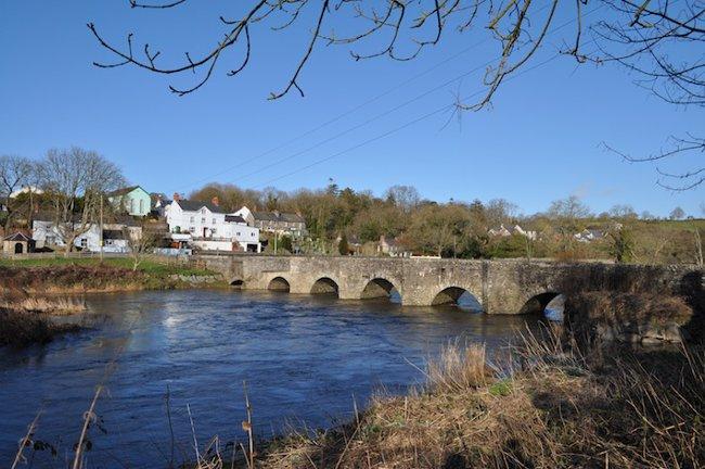 River Teifi in Pembrokeshire