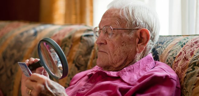 eyesight in later life