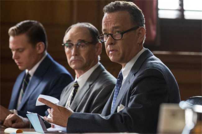 Tom Hanks and Mark Rylance in Bridge of Spies