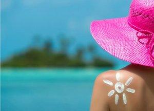 natural skin care in the sun