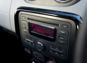 Dacia Duster media console