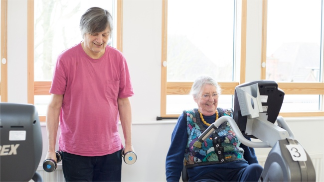 Staying active with a terminal illness