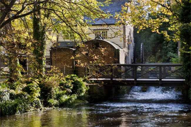 Snuff Mill in Mordern Hall - National Trust Images Andrew Butler