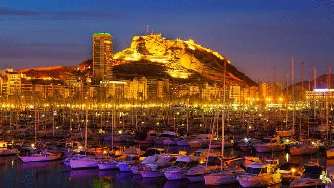 Alicante harbour