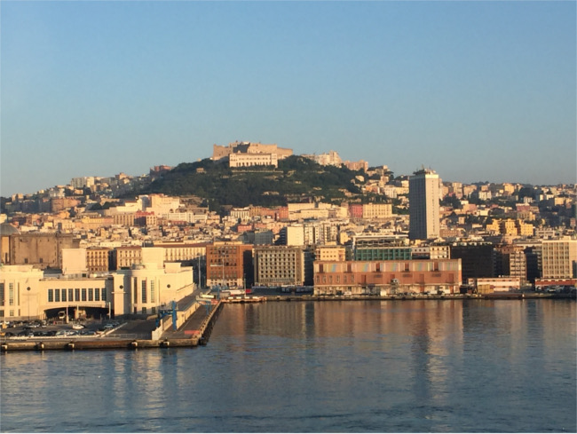 Naples harbour