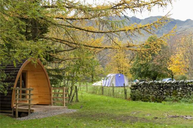 Head outdoors this summer with the National Trust's comfy campsites