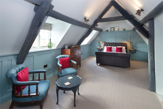 The George Townhouse manin suite