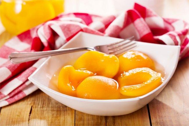 Tinned Peaches
