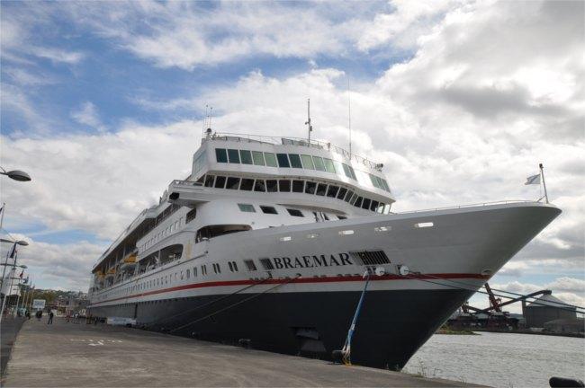 River cruise on Fred. Olsen's Braemar