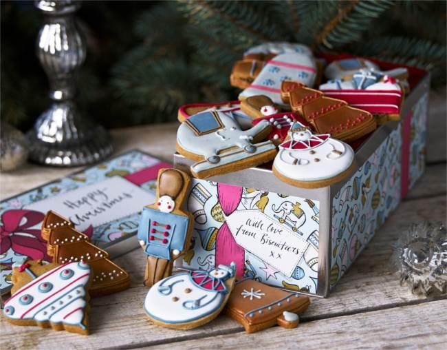 Vintage biscuit selection