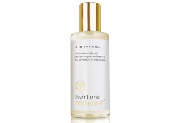 Nurture Replenish hair oil