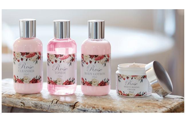 Rose scented gift bundle