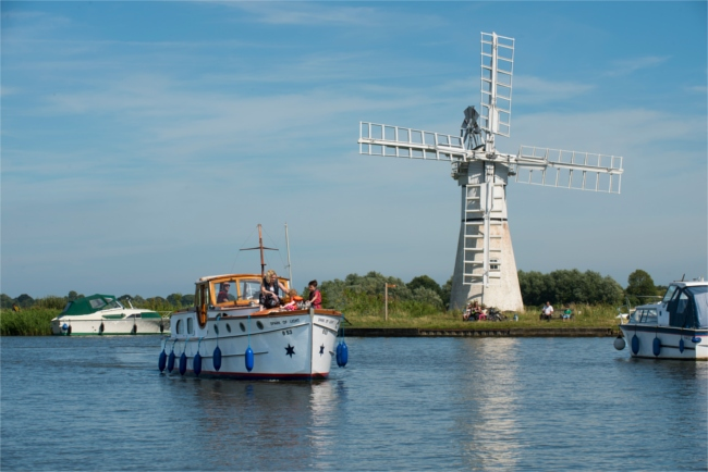 Norfolk broads cruise for 2018