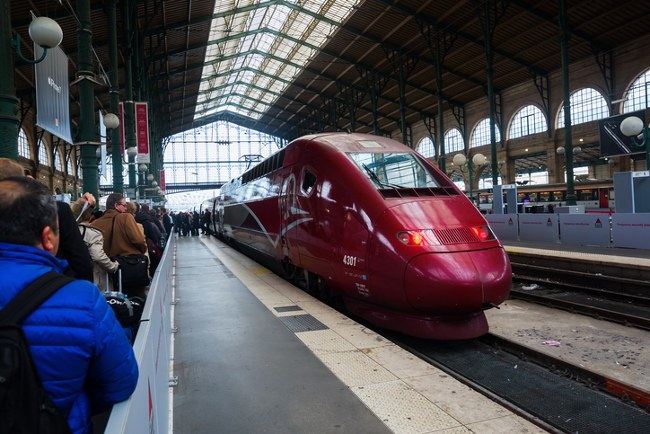 Next stop … Amsterdam Central!