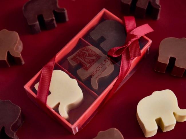R Chocolate elephants