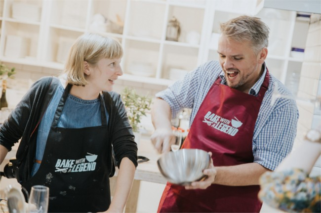 Bake with a Legend- Glenn Cosby, Great British Bake Off 2013