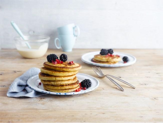 Spelt, Quinoa and Oat Pancakes