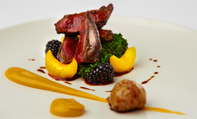 Food at the Black Swan