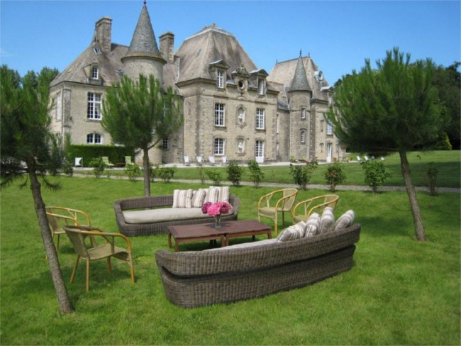 D'Day Chateau - Normandy, France