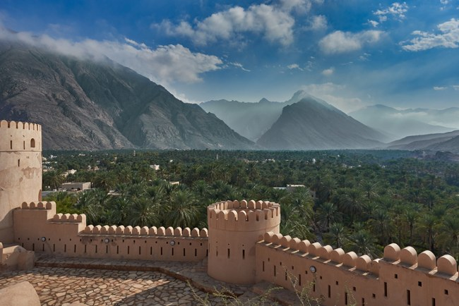 fortress in Oman