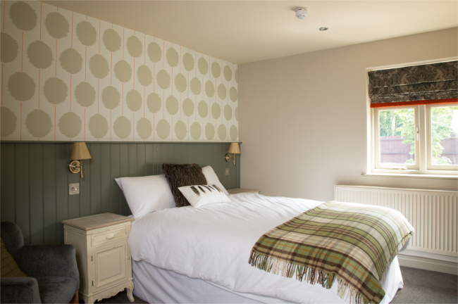 Bedroom at The Carnarvon Arms
