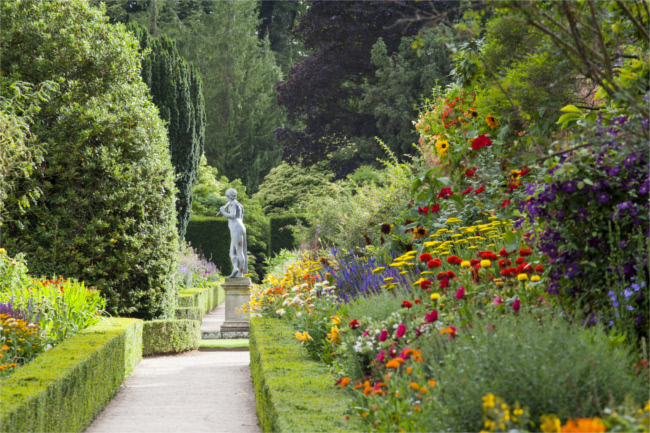 Powis Castle and Garden, Powys, Wales