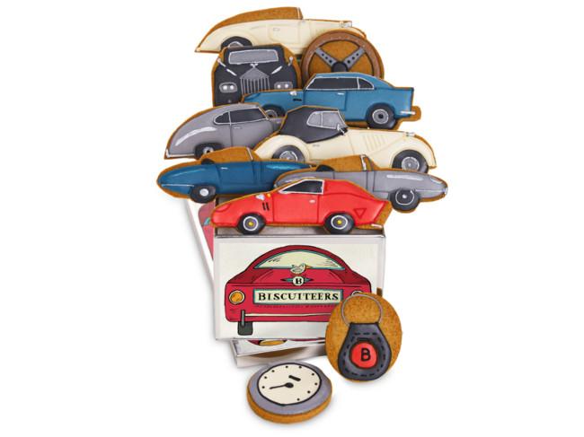 Classic Car biscuit tin