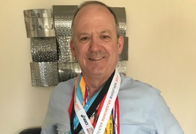 Ian Oliver, 56, from Bury