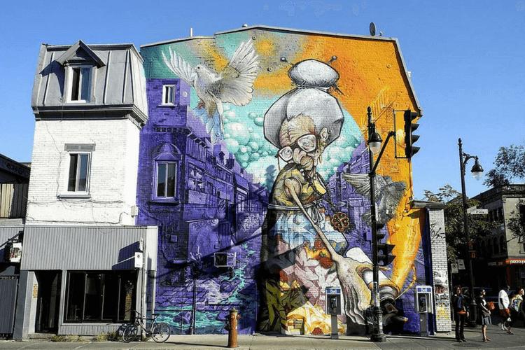 Montreal's Mural festival