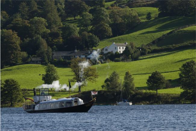 Steam Yacht Gondola, Coniston, Cumbria