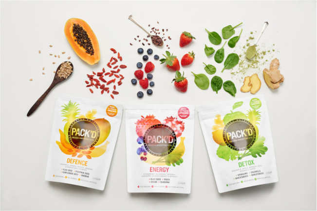 Pack'D smoothies
