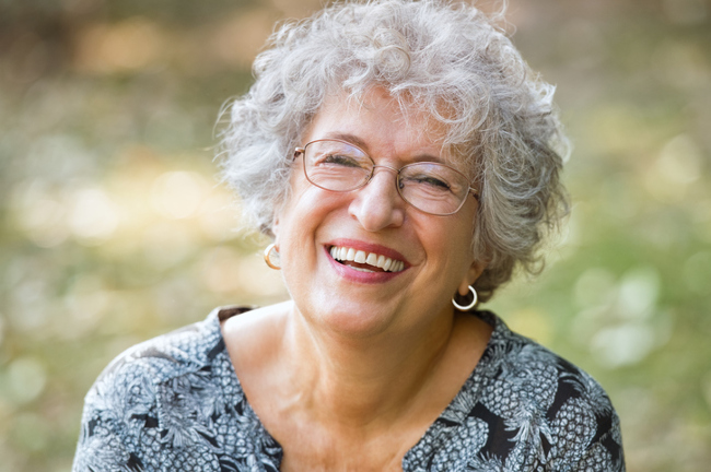 Mature women with glasses